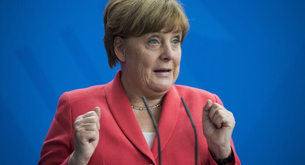 A chanceler alemã Angela Merkel