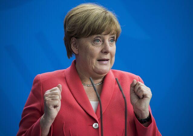 A chanceler alemã Angela Merkel (arquivo)