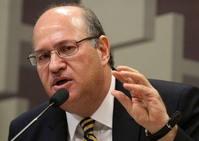 Presidente interino do Banco Central Ilan Goldfajn