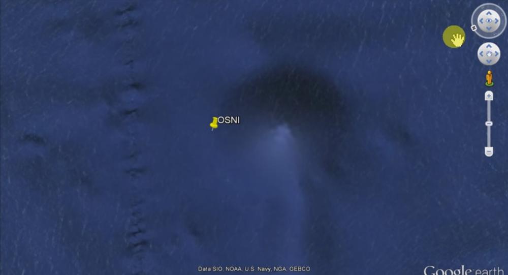 OSNI - Objeto submarino não-identificado: Pirâmide encontrada no fundo do Ocenao Pacífico por internauta argentino