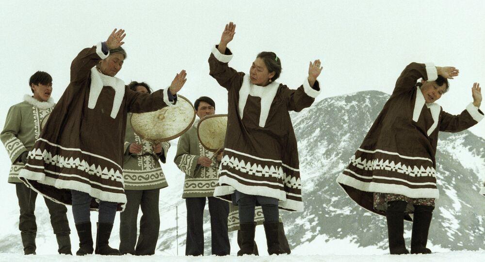 Dança popular dos esquimós