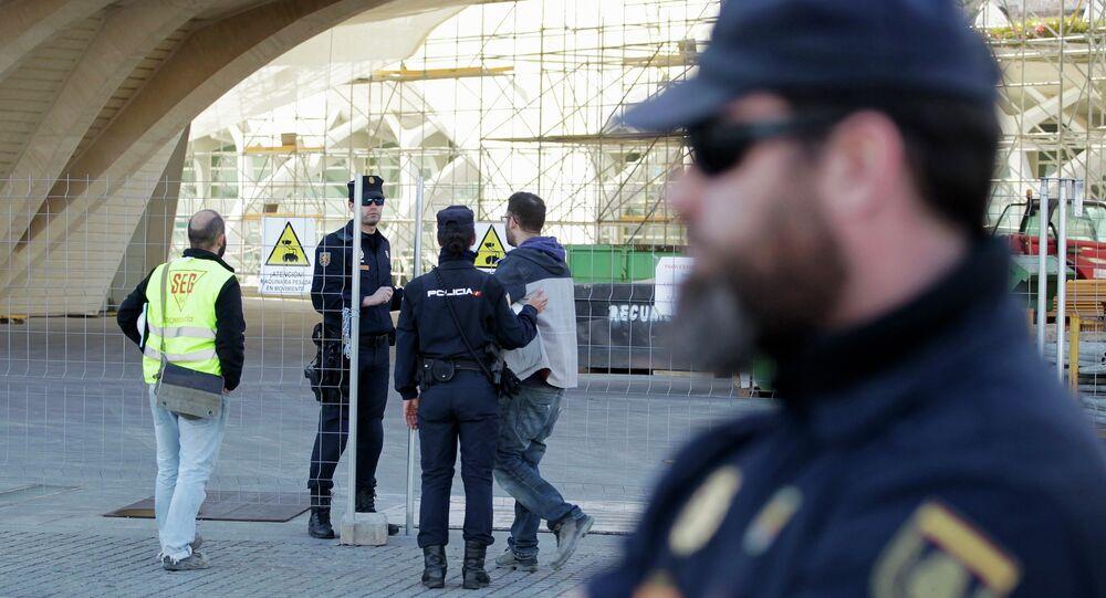 Policial espanhol