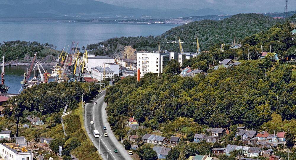 View of Petropavlovsk-Kamchatsky