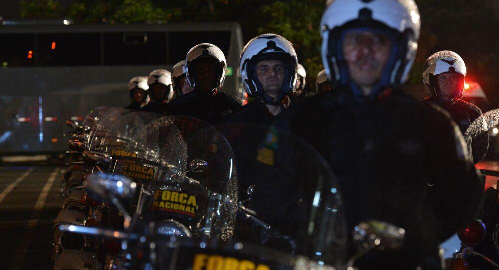 Força Nacional de Segurança brasileira