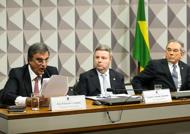 José Eduardo Cardozo na Comissão de Impeachment