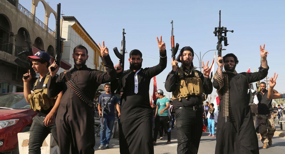 Militantes do grupo terrorista Daesh