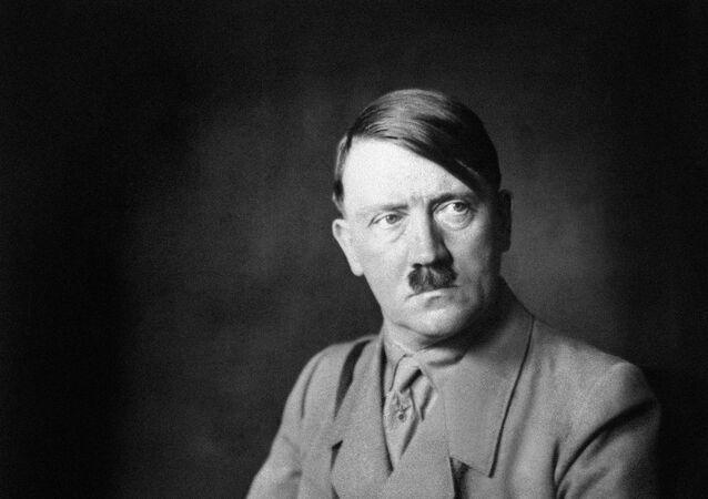 Ditador nazista Adolf Hitler, 1938