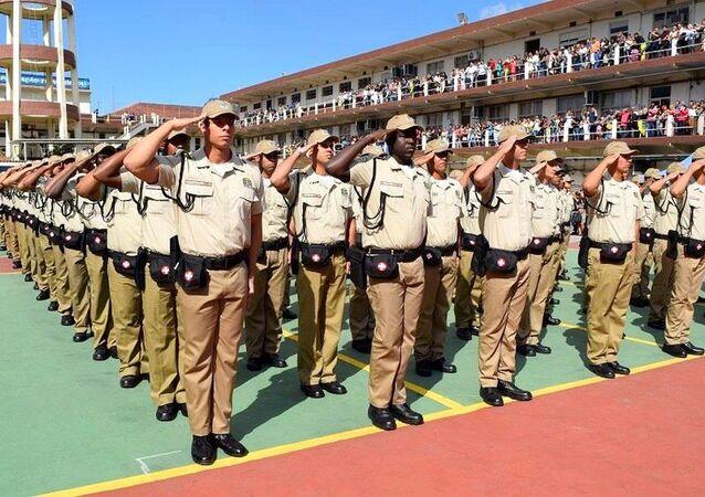 Formatura de 300 novos guardas municipais