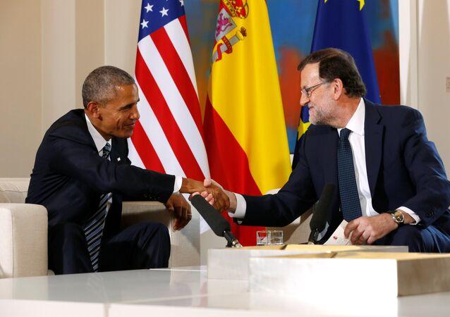 Mariano Rajoy e Barack Obama