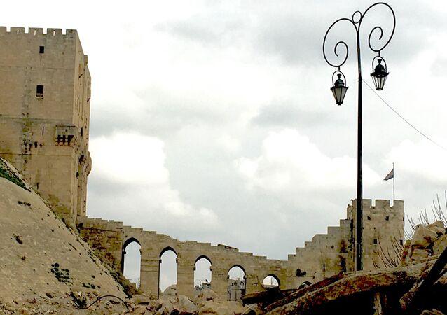 A Cidadela de Aleppo (foto de arquivo)