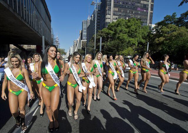Participantes do Miss Bumbum 2015