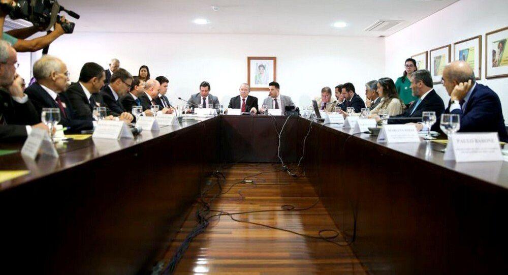 Ministros participam de reunião sobre a Olimpíada do Rio