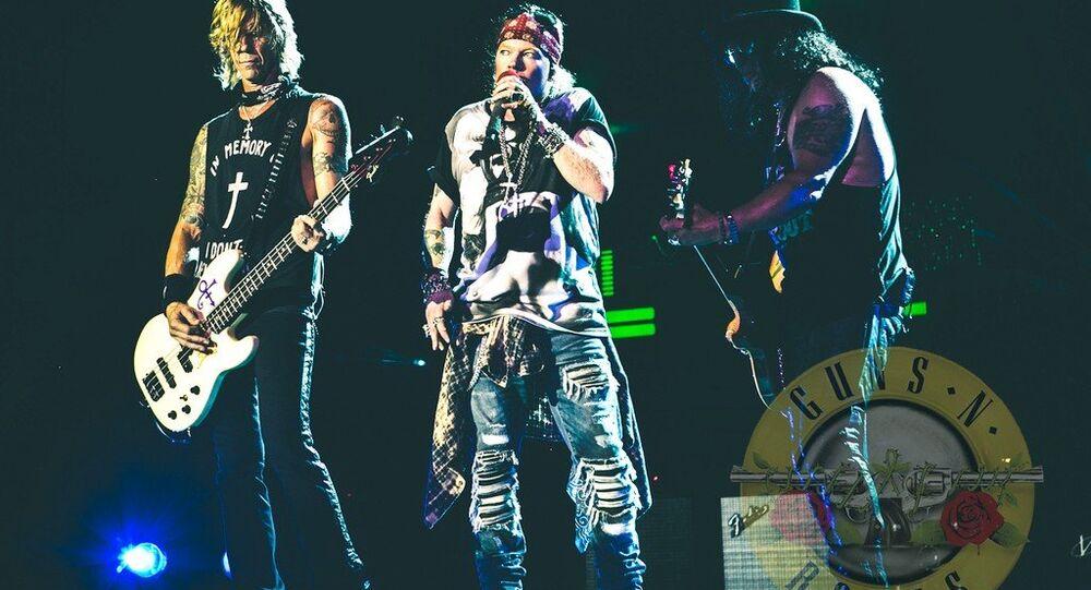 Guns N´Roses de volta em turnê no Brasil em novembro