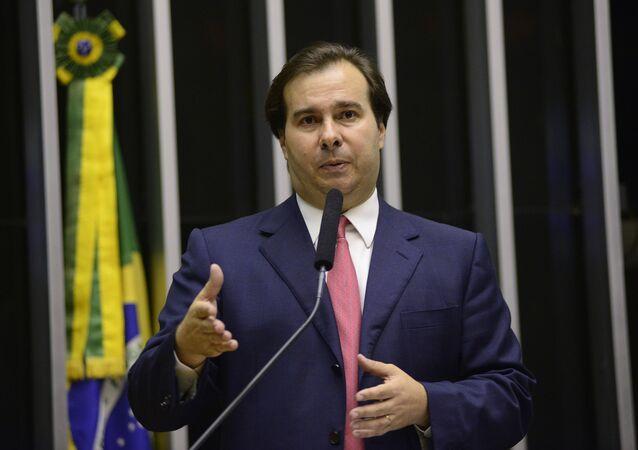 Rodrigo Maia (DEM-RJ), presidente da Câmara dos Deputados