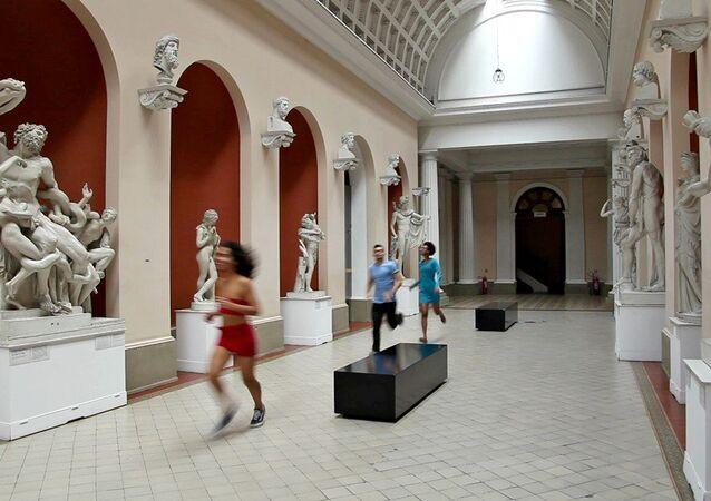 Exposição Intervenções entre XIX e XXI no Museu Nacional de Belas Artes do Rio