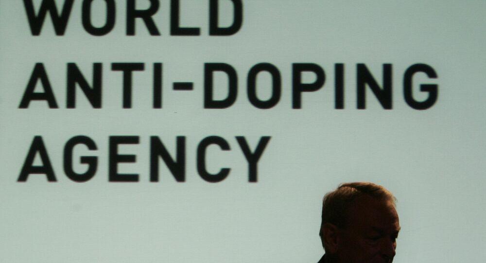 Dick W. Pound, head of World Anti-Doping Agency WADA