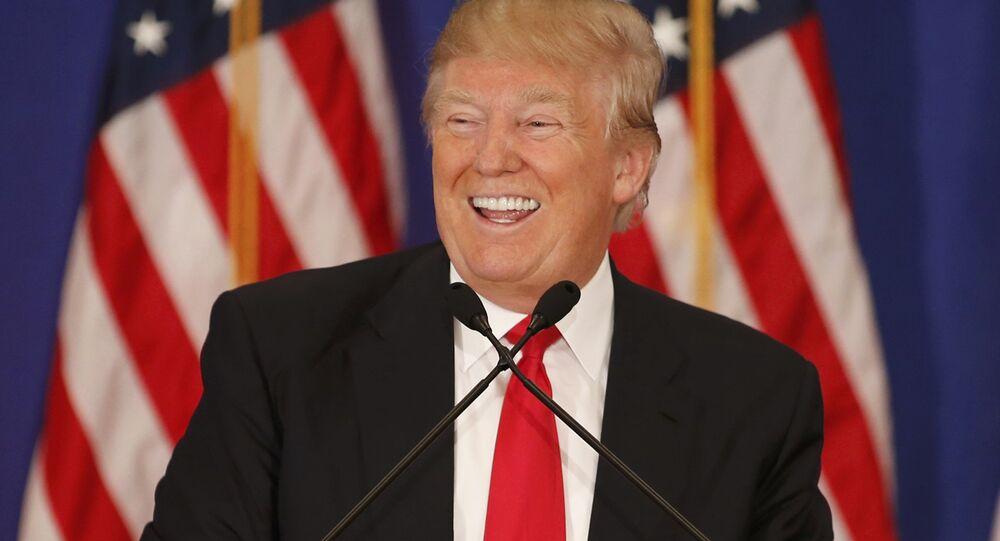 Candidato do Partido Republicano, Donald Trump (foto de arquivo)