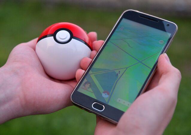 Pokémon GO, da Nintendo, na tela de um celular