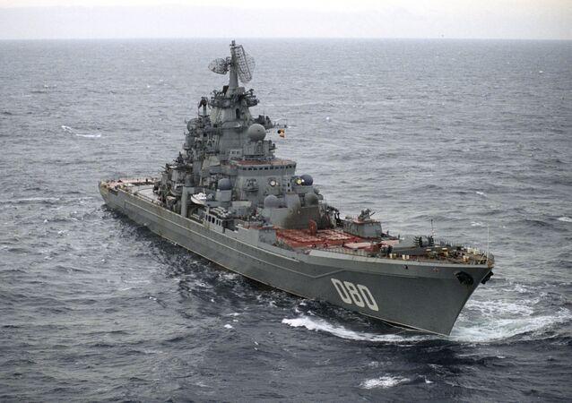 Cruzador nuclear pesado russo Admiral Nakhimov