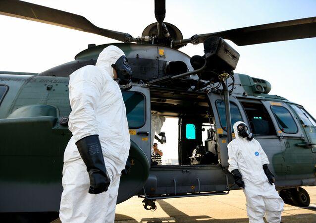 Militares que farão segurança nos Jogos Olímpicos na Rio 2016