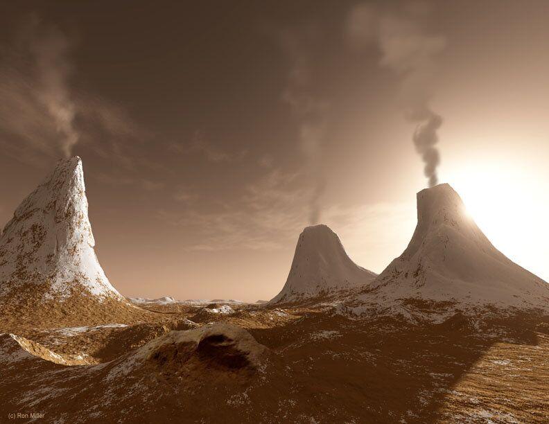 Não é fácil ver o Sol a partir da superfície de Marte