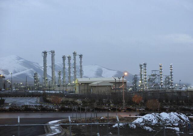Uma usina nuclear de água pesada na cidade de Arak, Irã (Foto de arquivo)