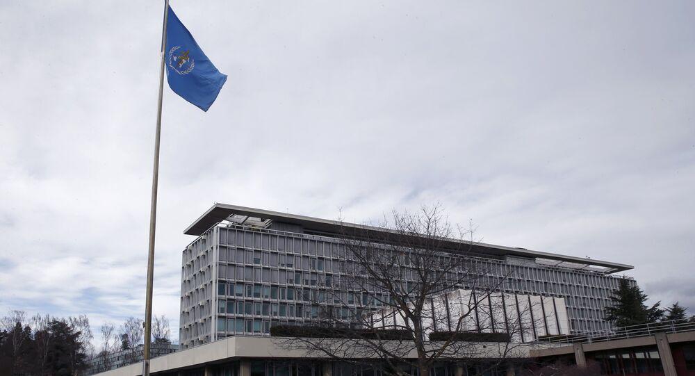 Sede da Organização Mundial da Saúde (OMS) em Genebra, Suíça