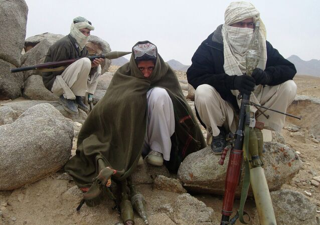 Membros do grupo radical Talibã