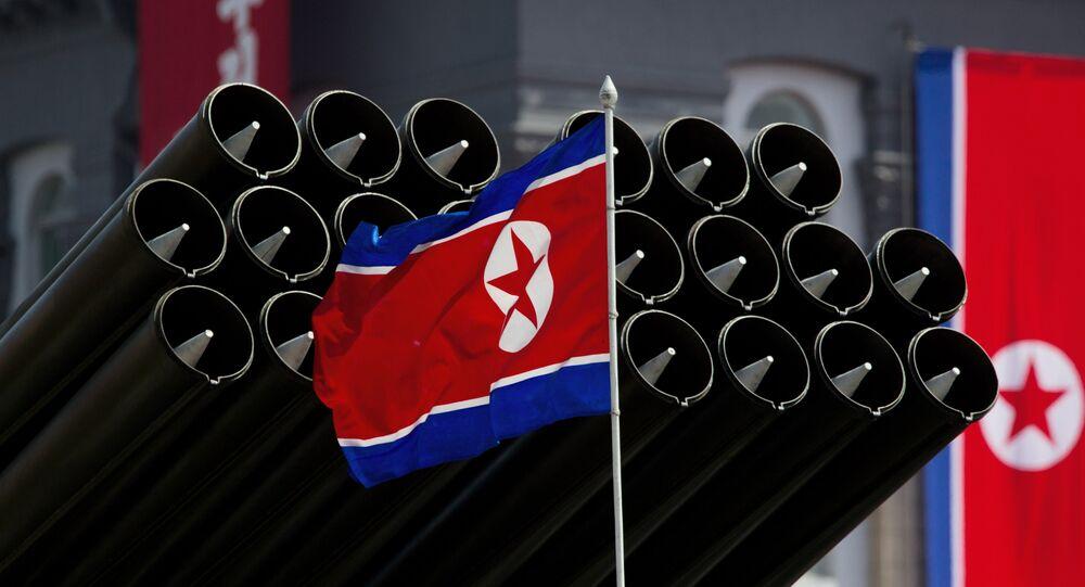Bandeira nacional da Coreia do Norte