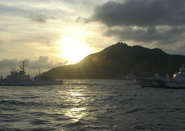 Navios japoneses voltam para os portos do seu país