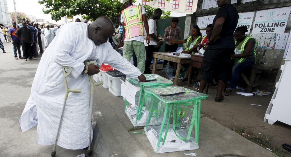 Eleições na Nigéria.