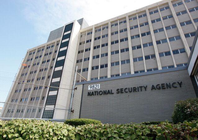 Prédio da National Security Agency (NSA) em Fort Meade, Maryland, Estados Unidos