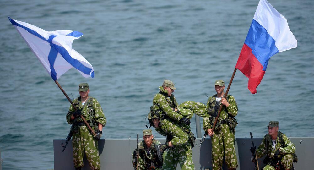 Marinha da Rússia do mar Negro