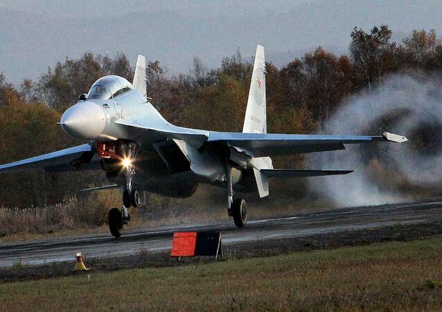 Caça multifuncional russo Su-30