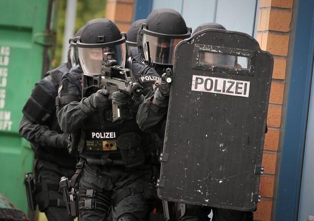 Policiais de Alemanha
