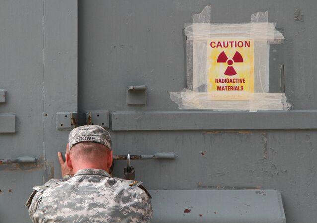 Base militar americana com armas nucleares (foto de arquivo)