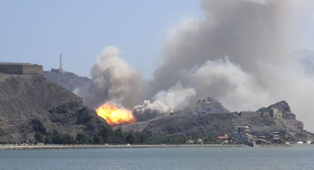 Bombardeio ao Iêmen.