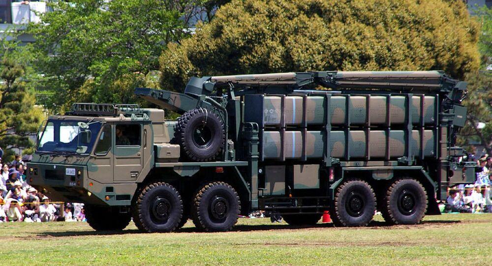 Sistema da defesa antimíssil SAM-4 do Japão