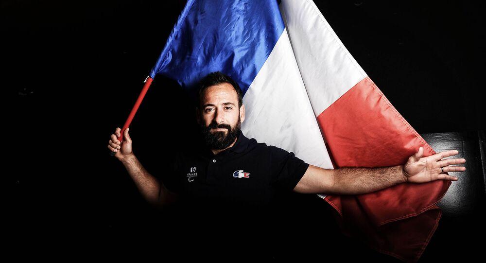 Tenista paralímpico da França, Michaël Jeremiasz