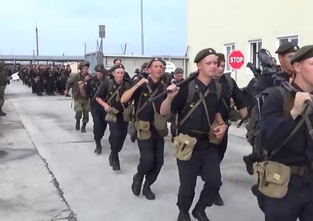 Inspeção inesperada às tropas russas