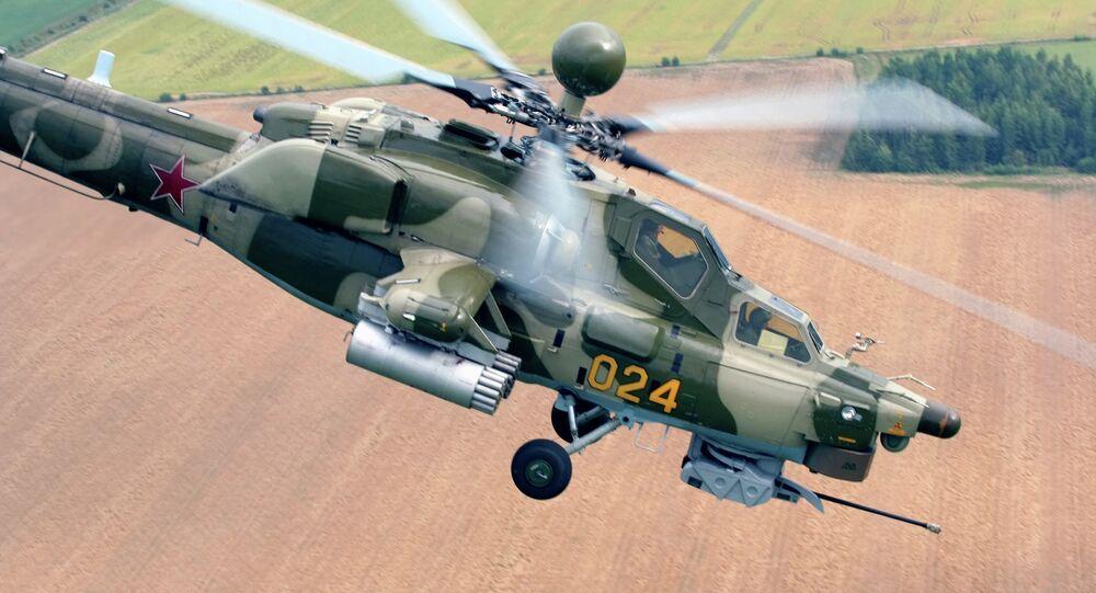 Helicóptero russo Mi-28N