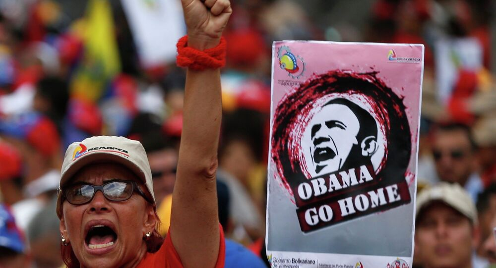 Protestos na Venezuela,foto de arquivo