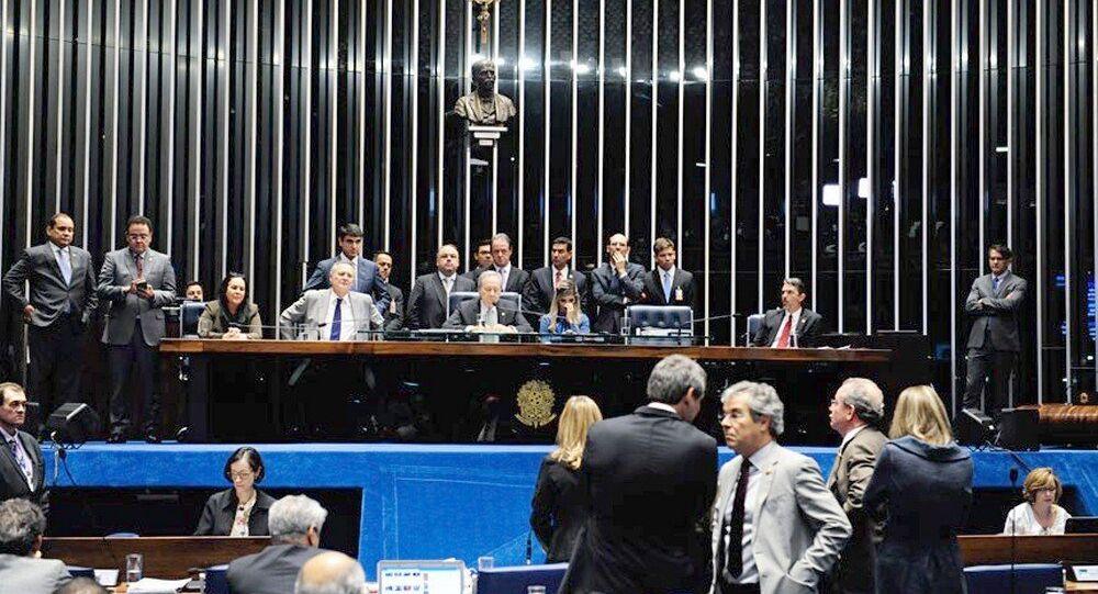 Julgamento no Plenário do Senado