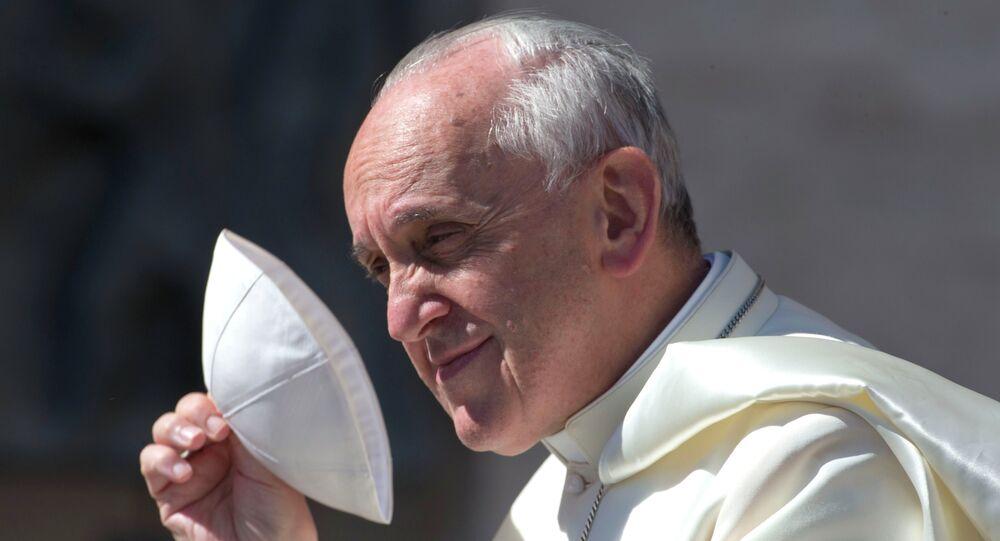 Papa Francisco, líder mundial da Igreja Católica Romana