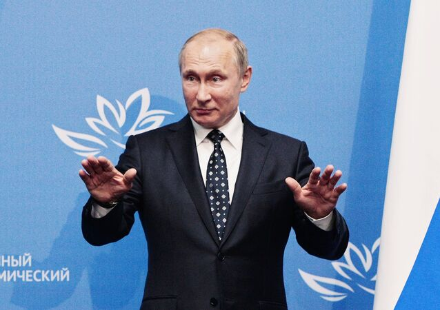 Presidente da Rússia. Vladimir Putin