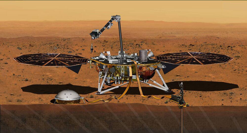 Módulo de pouso InSight da NASA