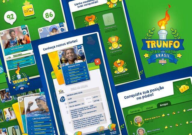 Aplicativo Trunfo Brasil 2016