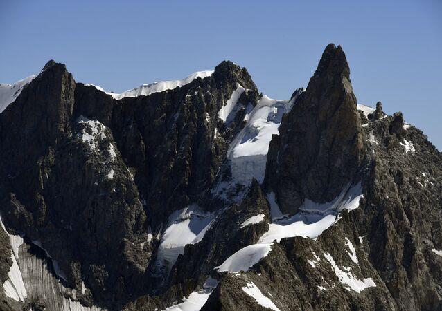 Mont-Blanc, departamento da Haute-Savoie, Auvergne-Rhône-Alpes