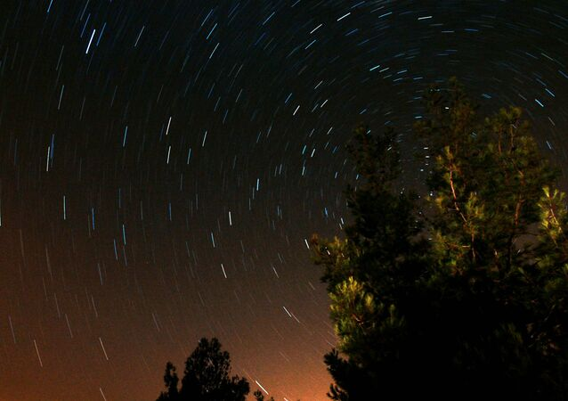 Céu de Chipre à noite