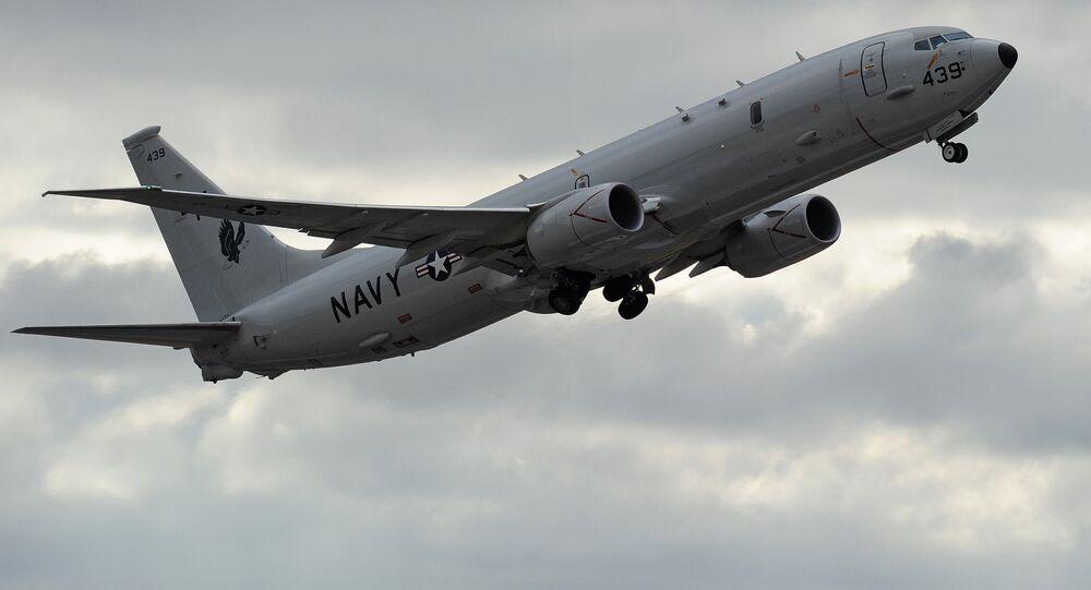 Avião norte-americano de reconhecimento (foto de arquivo)